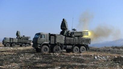 """Ruski raketni sistem """"Pancir S1"""" na zajedničkoj rusko-srpskoj vežbi """"Slovenski štit 2019"""", poligon """"Pasuljanske livade"""" u Ćupriji, oktobar 2019."""