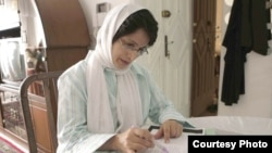 Iranian lawyer Nasrin Sotoudeh in an undated photo