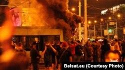 اعتراضات مینسک، پایتخت بلاروس