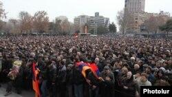 Protestat në Jerevan, 22 shkurt