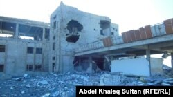 اثار الدمار في مدينة ربيعة بعد تحريرها من داعش