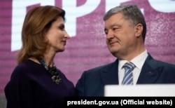 Марина і Петро Порошенки, 21 квітня 2019 року