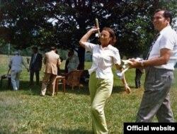 Elena Ceaușescu în vara anului 1976 în cursul unei vizite în Moldova (Foto: #F016; Fototeca online a comunismului românesc)