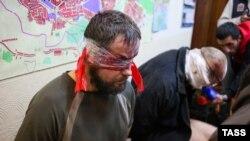 Ostateci luați de separatiști la Sloviansk
