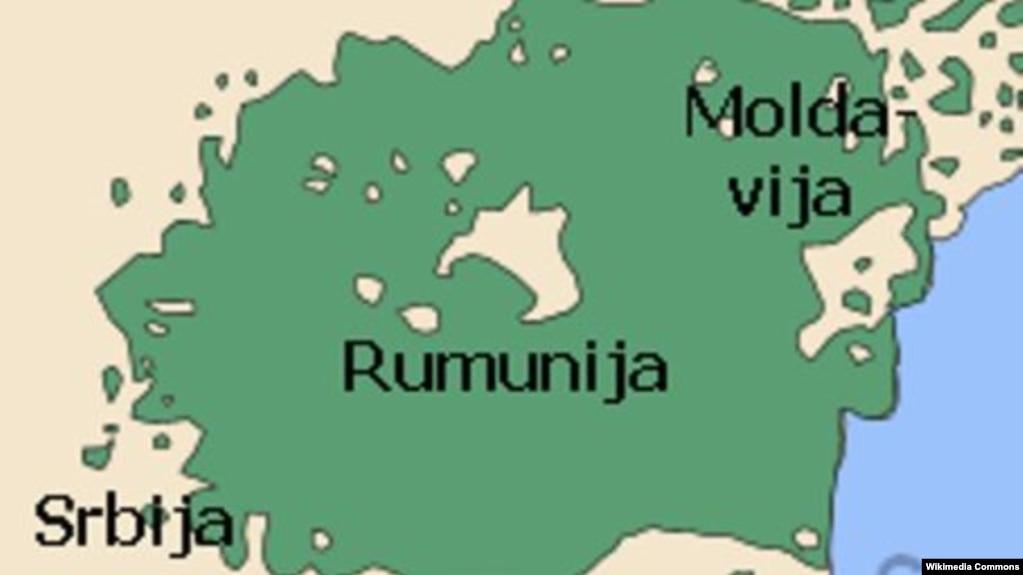 mapa srbije i rumunije Podele na srpske i rumunske Vlahe mapa srbije i rumunije