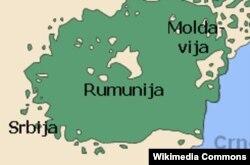 Gde su Vlasi na etničkoj mapi - ilustracija