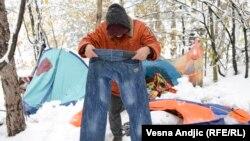 Na snijegu u šumi: Azilanti bez utočišta