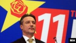 """Црвенковски ги повика сите партии, здруженија, организации и сите граѓани, да им се придружат во битката за """"иднината на Македонија""""."""