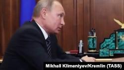 Президент России Владимир Путин. Москва, 4 июня 2018 года.