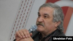 "Ukrainian writer Vasyl Shklyar, author of ""Black Raven"""