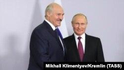 Олександр Лукашенко і Володимир Путін у Сочі, 18 травня 2018 року