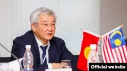 Мэр Бишкека Кубанычбек Кулматов.