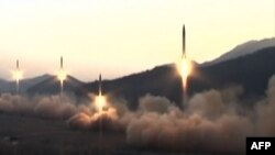 Pyongyang has sent alarms bells ringing throughout the region with a series of weapons tests in recent weeks.