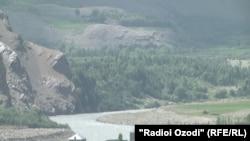 Граница с Афганистаном. Ишкашимский район