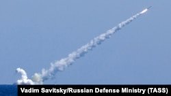 Запуск ракети з російського підводного човна, 14 вересня 2017 року