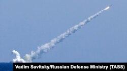 Удар ракетами «Калибр» с подводных лодок «Великий Новгород» и «Колпино», Средиземное море, 14 сентября 2017 года