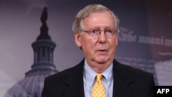 U.S. Senate Majority Leader Mitch McConnell promised that the vote would not be the Senate's last word, and he set the stage for another vote next week.