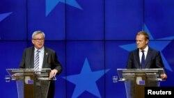 Jean-Claude Juncker və Donald Tusk