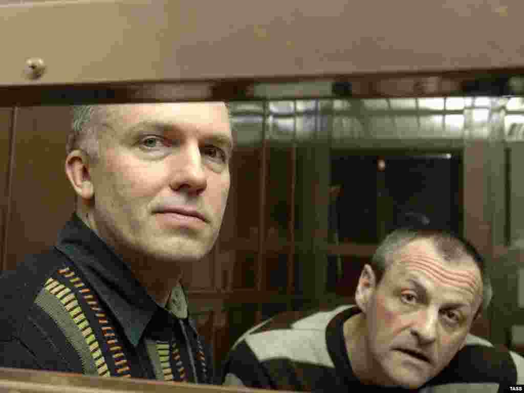 Мосгорсуде начался процесс над экс-главой СКП Дмитрием Довгием и полковником Андреем Сагура