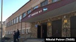 Школа №1 в Стерлитамаке, где произошло нападение на учеников и учителя
