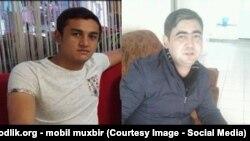 Граждане Узбекистана Аброр Устабаев (слева) и Самат Мухиддинов, погибшие в результате теракта в аэропорту имени Ататюрка в Стамбуле.