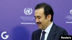 Қазақстан премьер-министрі Кәрім Мәсімов. Астана, 23 мамыр 2014 жыл.