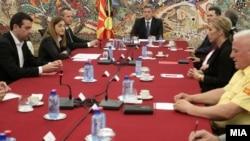 Makedoniya Təhlükəsizlik Şurasının iclası