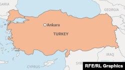 Turkey locator map webmap