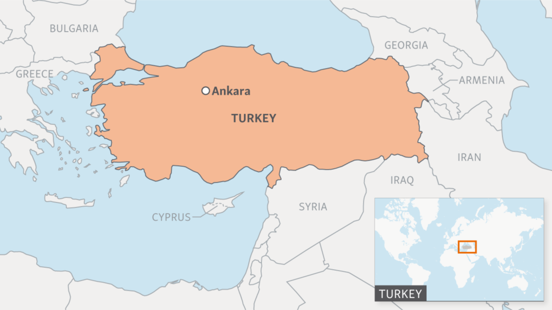 Turkey And Greece Map.Turkey S State Run News Agency Leaks U S Base Locations In Syria