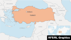 Мапа Туреччини