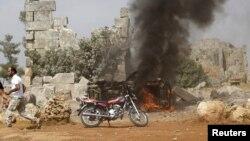 Бомбалоодон кийин. Сирия. 1-октябрь, 2015-жыл
