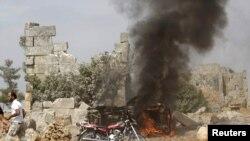 Орусия Сириядагы аба соккуларды 30-сентябрда баштаган.