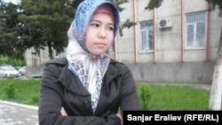 Робия Кадырова, ученица 9-класса