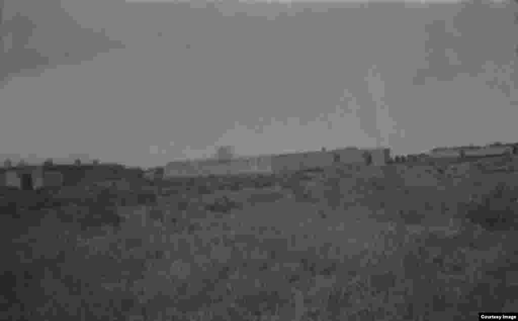 Амангелді Иманов жасағының штабы орналасқан Дүкенбай ауылы.