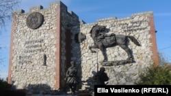 Мемориал в станице Еланская