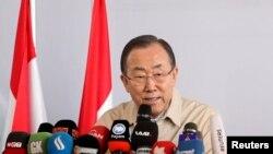 بان کی مون منشی عمومی سازمان ملل متحد