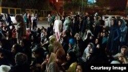 اعتراض دانشجویان اهواز