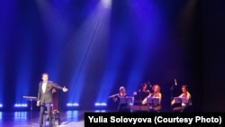 Музыкальное сопровождение спектакля «Казанова» осуществлял квартет «Каприччио»