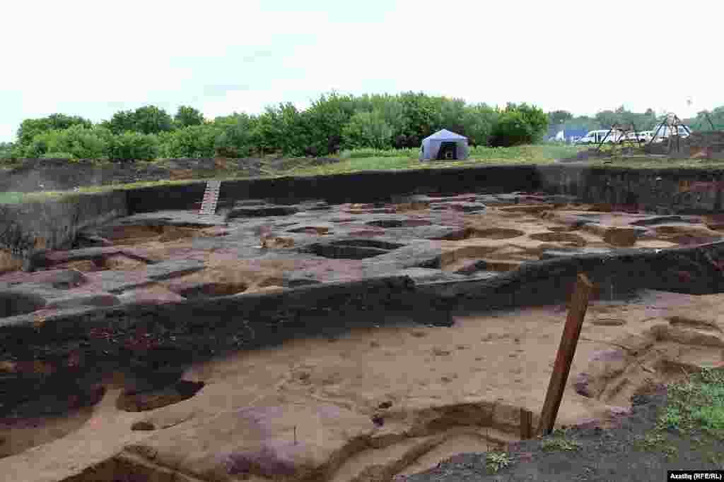 Болгарда археологик казыну урыны