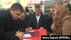Peticioni Organizatës së Veteranëve të Luftës së Ushtrisë Çlirimtare të Kosovës,