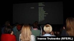 Перегляд фільму «Кіборги» зал завершив овацією стоячи