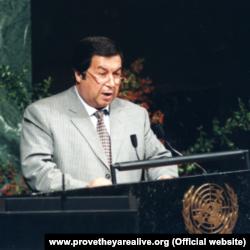 Бывший министр иностранных дел Туркменистана Борис Шихмурадов