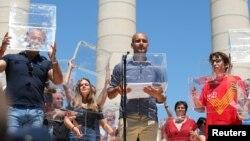 Pep Gvardiola, menadžer Mančeseter sitija, na skupu podrške referendumu o nezavisnosti katalonije
