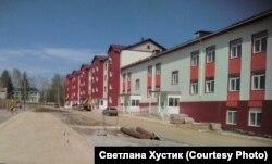 Новое здание больницы в Раздолинске. Красноярский край, 2019