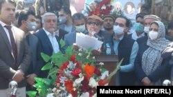 محمد علم ایزدیار معاون نخست مشرانوجرگه افغانستان
