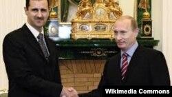 Bashar al Assad i Vladimir Putin, oktobar 2015.