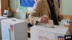 Glasanje na lokalnim izborima u Hrvatskoj