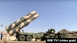 A video showed an S-300 carrier truck in Fordo, broadcasted on Iranian TV on August 28.