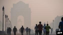 Смог в Дели, Индия. Иллюстративное фото.