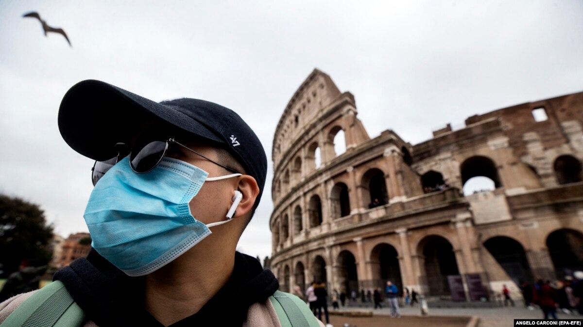 Количество случаев заражения новым коронавирусом в Европе превысила 31